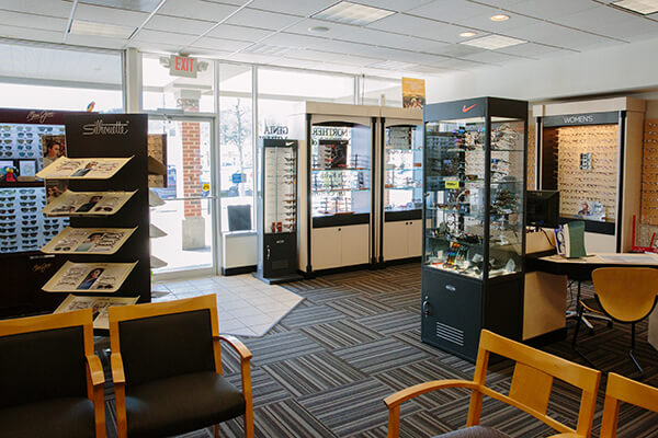 eyewear display cabinets alexandria